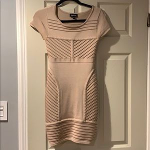 Bebe short sleeve bodycon dress